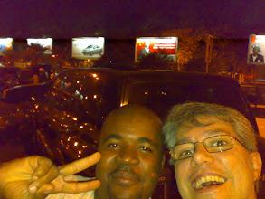 Photo: Na chegada a Luanda estábanme esperando Marcio co seu primo Mauro.