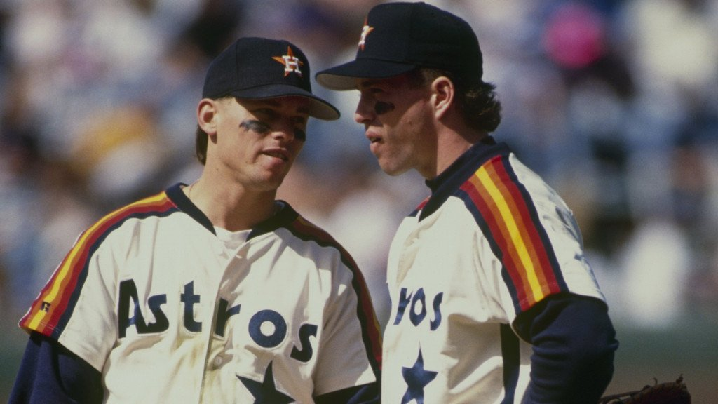 Houston Astros all-time greats 26 Man Roster