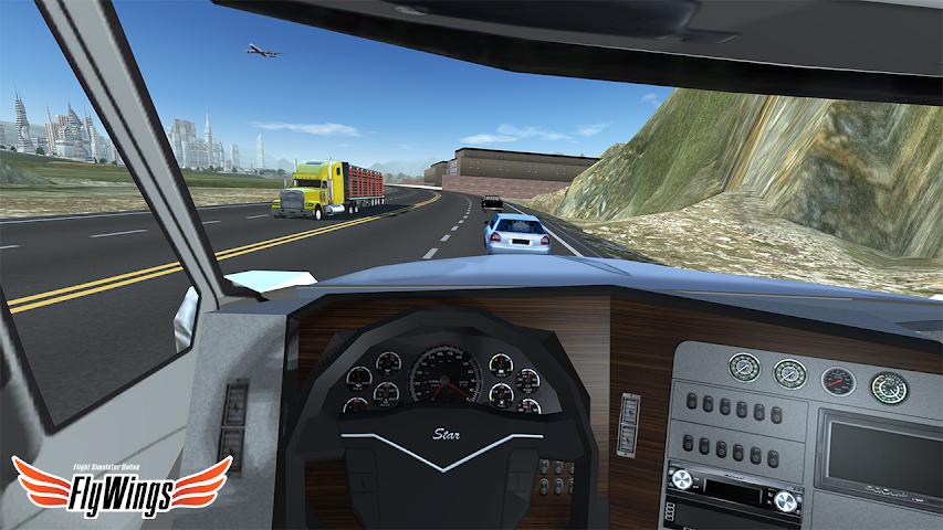 android Truck Simulator 2016 Free Game Screenshot 3