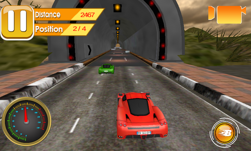 Real Furious Car Traffic Race- screenshot