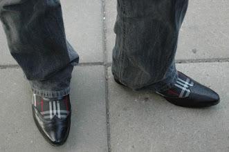 """Photo: """"Se på dina skor, andra gör det!"""" Bosse Hanssons pjuck"""