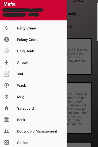Mafia Mobile App  screenshots 1
