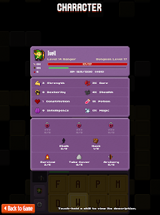 Crossword Dungeon- screenshot thumbnail