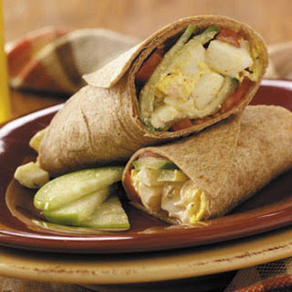 Egg Salad Burritos