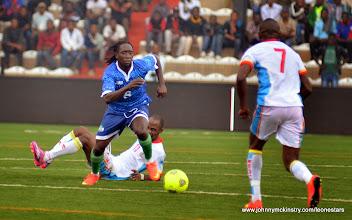 Photo: Ibrahim Kallay     [Leone Stars v DR Congo, 10 September 2014 (Pic © Darren McKinstry / www.johnnymckinstry.com)]