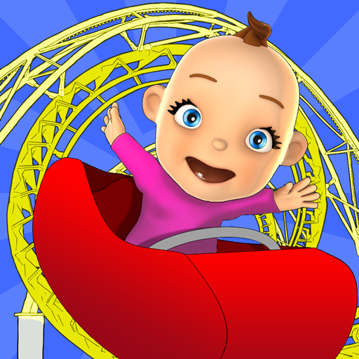 Baby Fun Park: Baby Games Gold Icon
