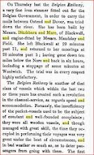 Photo: essai du chemin de fer belge jeudi 5 fevrier 1846