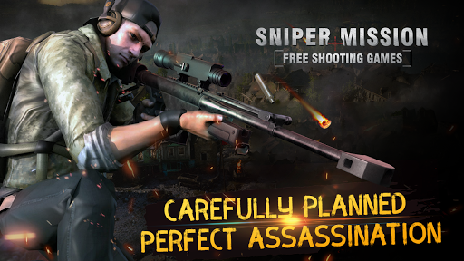 Sniper Mission - Free shooting games - screenshot