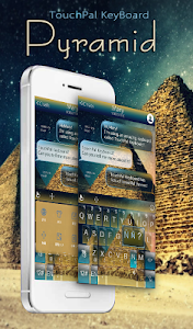 TouchPal Travel Egypt Theme screenshot 0