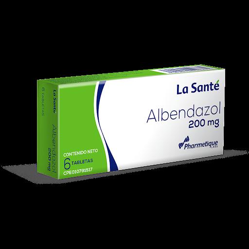Albendazol Elter 200 mg x 6 Tabletas ALBENDAZOL ELTER 200 MG X 6 TABLETAS