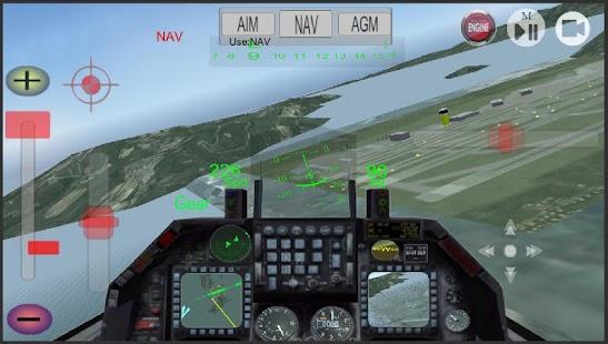 F16 Similation - náhled