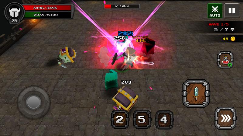 Pixel F Blade - 3D Fantasy rpg Screenshot 10