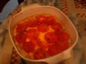 Tomato Mac Pie Recipe