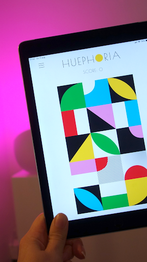 Huephoria - A tapping game with Philips Hue lights  screenshots 1