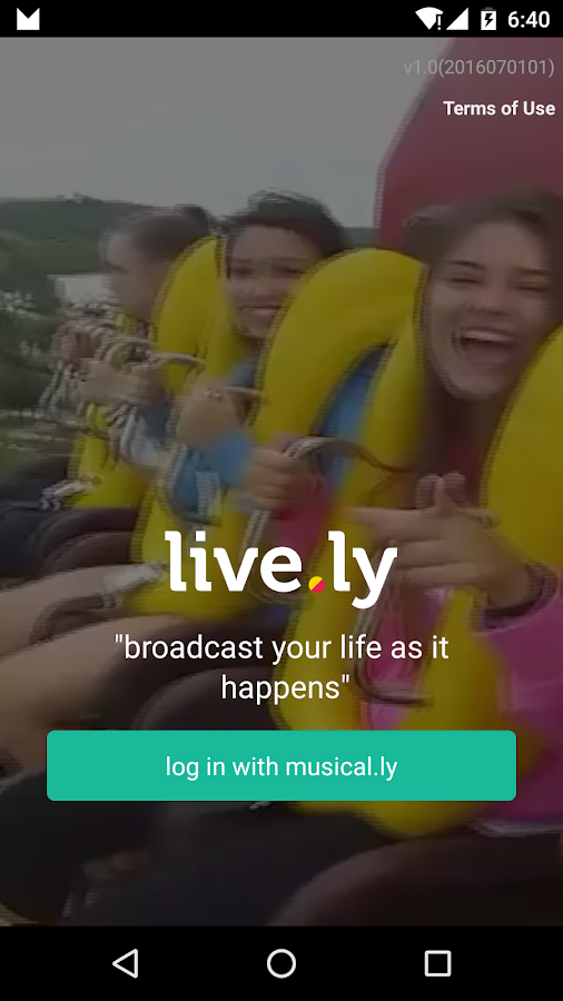 Screenshots of live.ly - live video streaming for iPhone