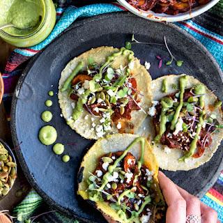 Mushroom Tacos.