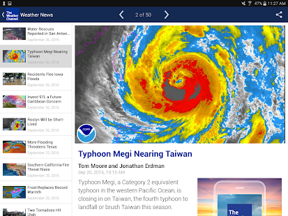 Weather - The Weather Channel- screenshot thumbnail