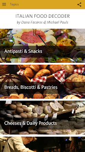 Italian Food Decoder- screenshot thumbnail