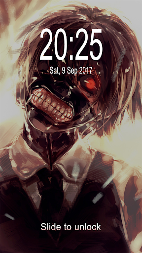 Fan Anime Lock Screen Wallpaper Of Ken Kaneki