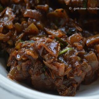 Spicy Mutton Roast - Chettinad Style