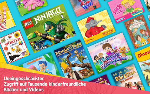 Amazon FreeTime - Kinderbücher, Videos & TV-Serien Screenshot