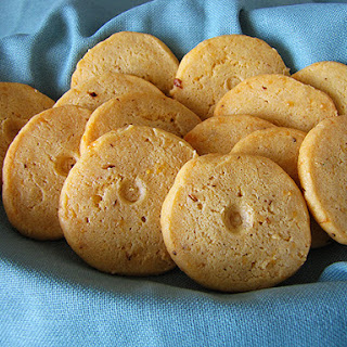 Slice-and-Bake Cheese Crackers