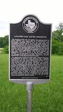 Photo: THC marker - Apache Pass