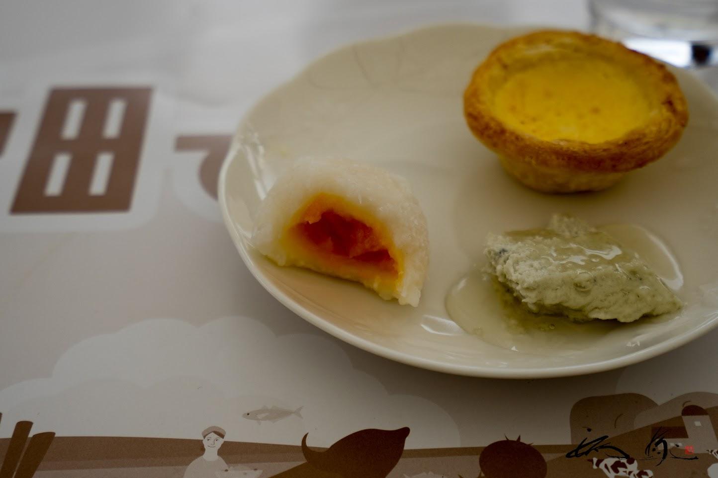 白玉のさつま芋餡