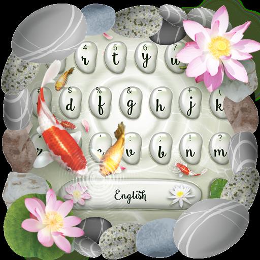 Koi Fish Keyboard Theme
