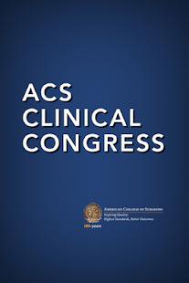ACS Clinical Congress - náhled