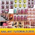Nail Art Tutorials 2016 icon