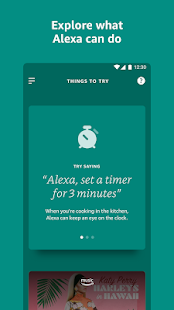 Amazon Alexa Screenshot