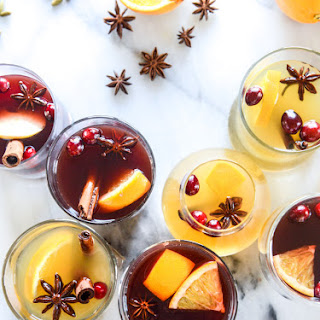 Mulled Red and White Wine