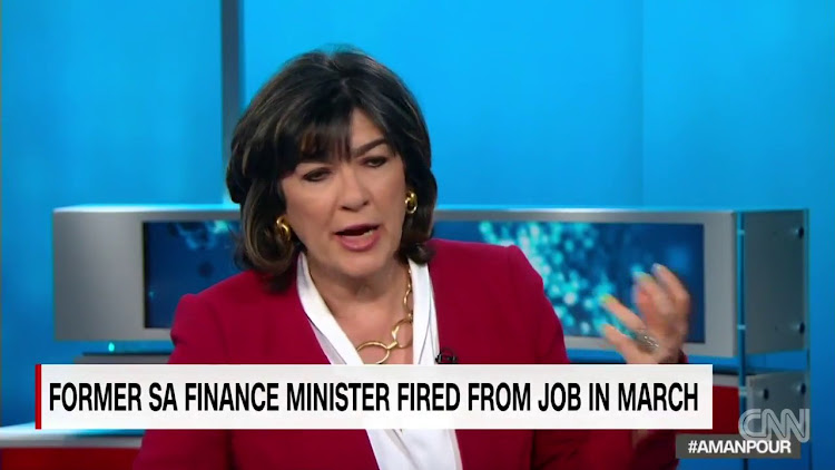 Christiane Amanpour. Picture: YOUTUBE
