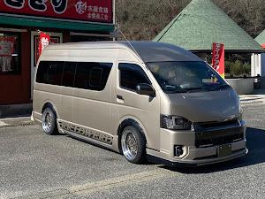 ハイエース  コミューターのカスタム事例画像 Yuta.com8888さんの2021年01月24日11:37の投稿