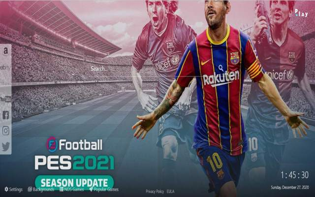 PES 2021 Game HD Wallpapers & New Tab