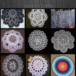Crochet Doilies - náhled