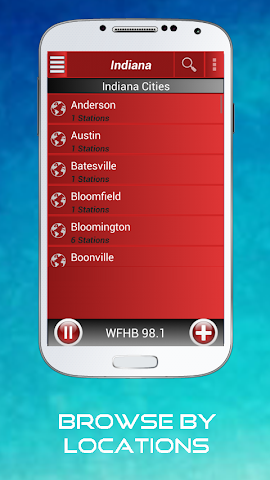 android A2Z Indiana FM Radio Screenshot 9