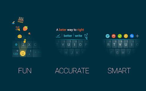 Ginger Keyboard Emoji Keyboard- screenshot thumbnail