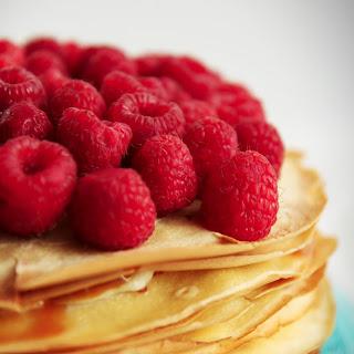 Caramel Mascarpone Crepe Cake