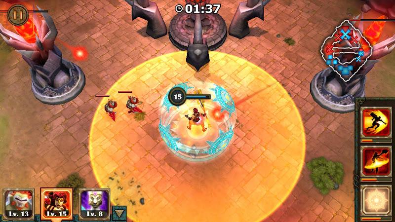 Legendary Heroes v2.3.72 [Mod]