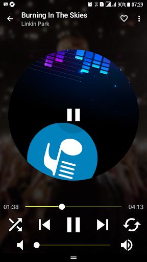 Musicpower - Music Player and Lyrics 1.7.1 screenshots 1