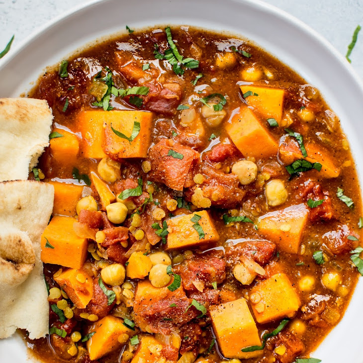 Crockpot Sweet Potato Curry