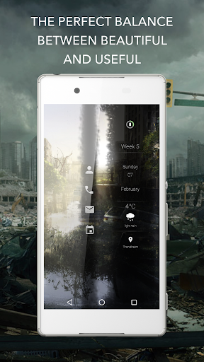 Beautiful Apocalypse for KLWP  screenshots 3