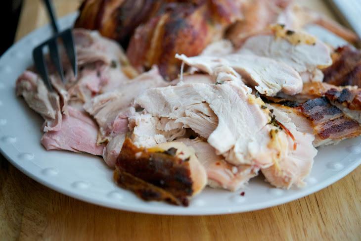 Maple Bacon Roasted Thanksgiving Turkey Recipe | Yummly