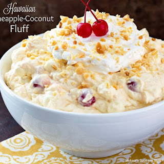 Hawaiian Pineapple Coconut Fluff Recipe