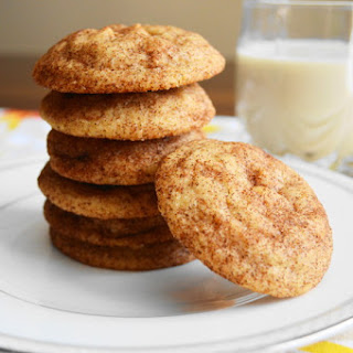 Ginger White Chocolate Snickerdoodles