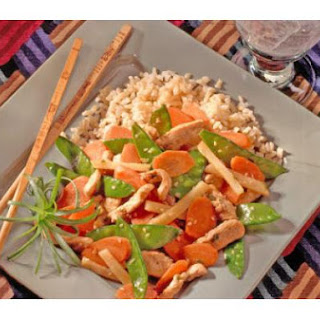Sesame Chicken and Vegetables