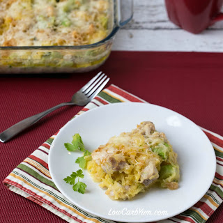 Chicken Broccoli Spaghetti Squash Casserole