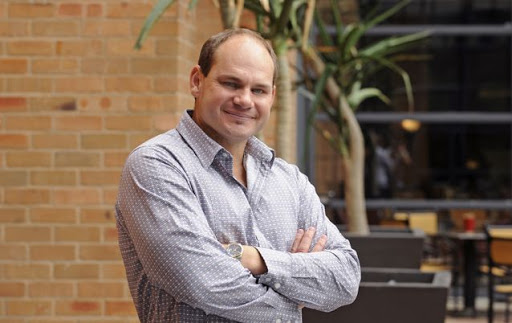Trustco Founder and MD Quinton van Rooyen. Picture: RUSSELL ROBERTS